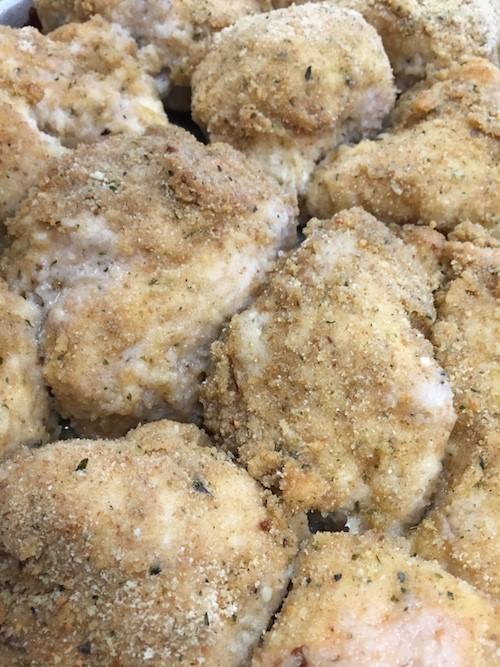 Baked Parmesean Chicken